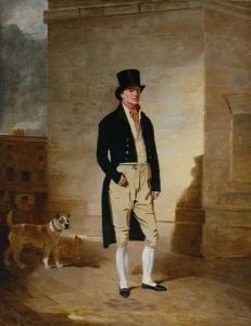 James Belcher, Trusty, by Benjamin marshall 1803