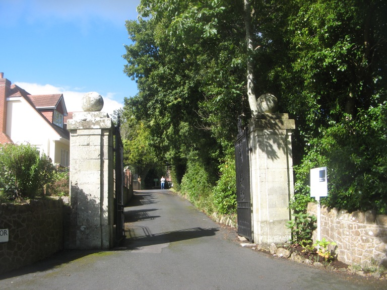 Gates to Westhill Manor
