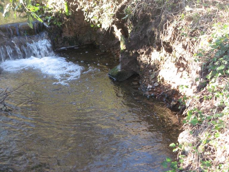 At the Middleton Bridge - sheepwash remains