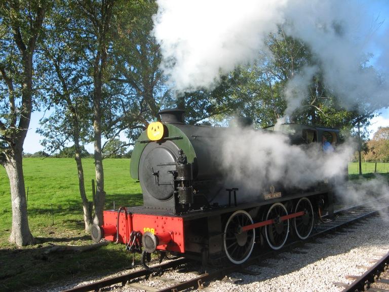 Engine shunting at Havenstreet